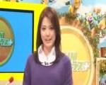 女子アナがニュース番組中にSEX